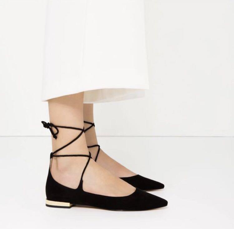 Zara Ballerina Flats