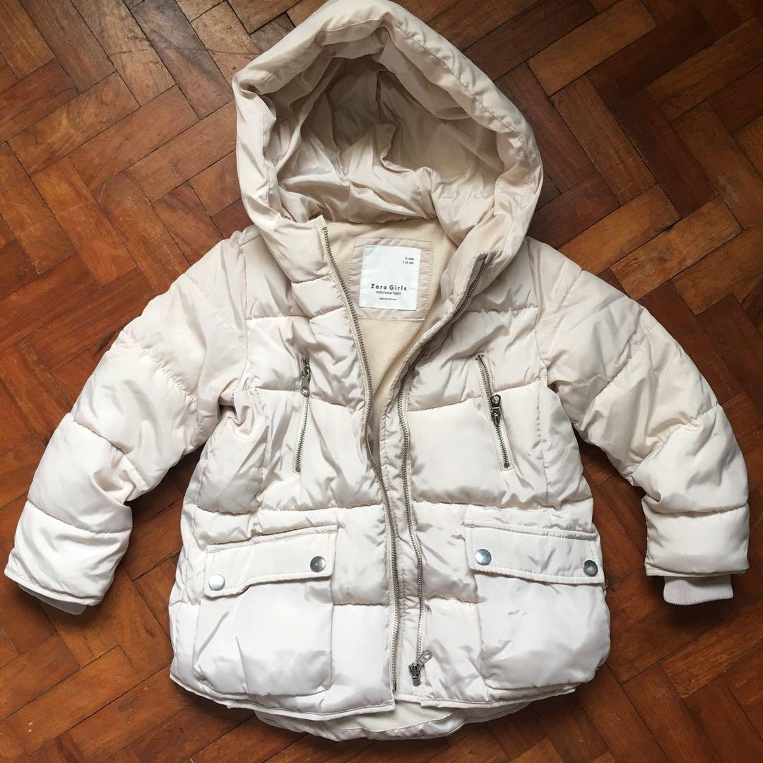 Zara toddler winter coat