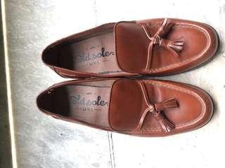 Old sole manila tassle loafers