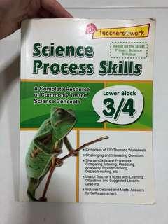 P3/P4 Science Process Skills Assessment Book