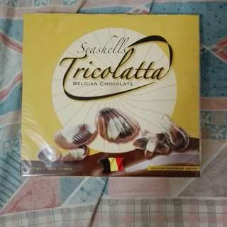 Tricolatta貝殼朱古力