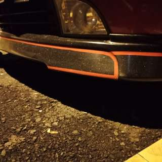 Myvi 2005 front skirting