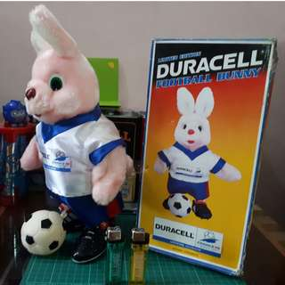 FOOTBALL DURACELL BUNNY FRANCE World Cup 1998