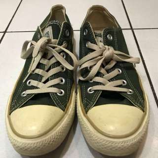 Converse Low Darkgreen