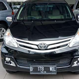 2014 Toyota Avanza 1.3 G AT 2014 airbag/Nego