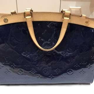 Louis Vuitton Brea MM Dark Blue