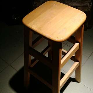 四方高腳椅凳