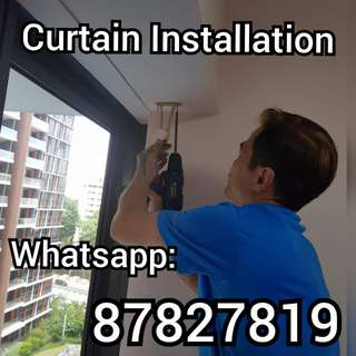 Curtain Installation Curtain Installation Curtain Installation
