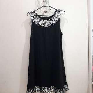 Cruise Wear&Co Sequin Black Dress