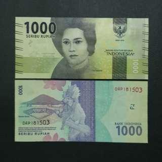 Indonesia 1000 Rupiah 🇮🇩 !!!