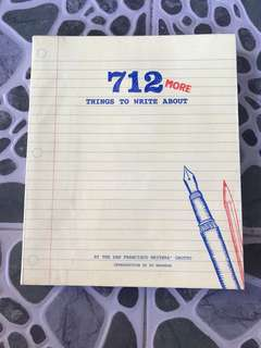 712 more things to write about