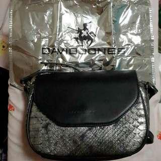 David Jones Black Sling Bag