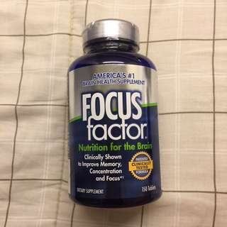 Focus Factor: America's #1 Brain Health Supplement