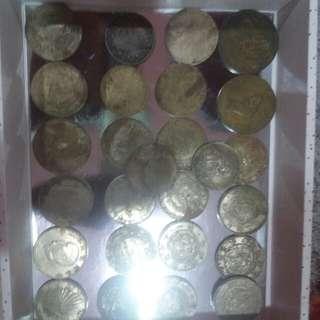 duit syiling lama besar rare