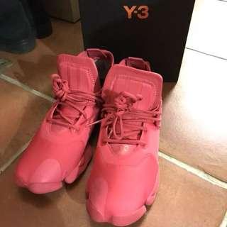 Y-3 桃紅球鞋