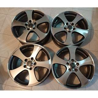 17 吋鋁合金軨 17 Inch Alloy Wheel