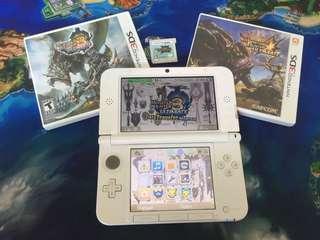 Nintendo 3DS XL Monster hunter set