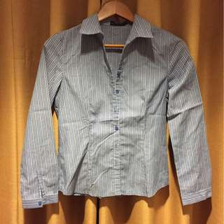 EXECUTIVE blue stripes shirt