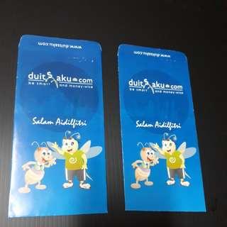 Angpow Packet Sampul Duit Raya BNM Wang Saku