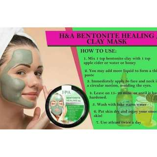 H&A Bentonite Healing Clay Mask
