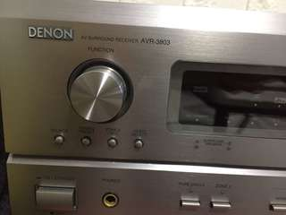 DENON Surround Receiver AVR 3803