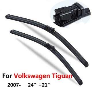 Volkswagen Tiguan Wiper Blades (24 in + 21 in)