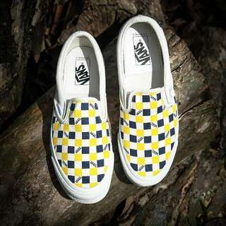 Vans Slipon Vault LX Checkerboard