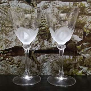 Crystal glasses
