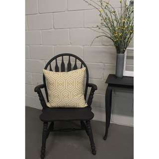 CUSTOM WINDSOR ARM CHAIR, ANY COLOUR