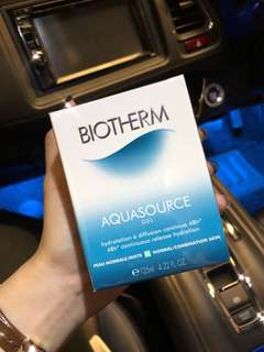 Biotherm aquasource gel cream 125ml