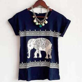 One elephant tshirt