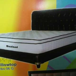 Springbed Single Pillowtop Jumbo BISA KREDIT TANPA DP