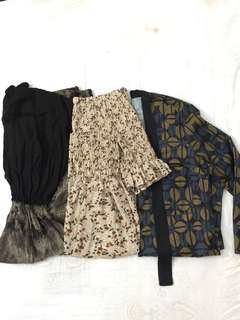 Take all printed dress