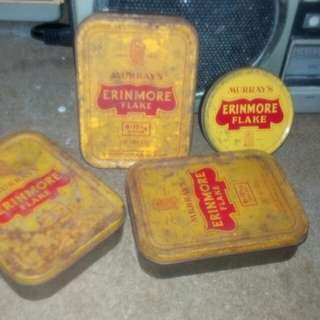 vintage erinmore tin