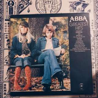 Vinyl Record: ABBA gReAtEsT HITS!