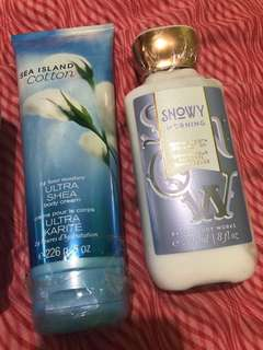Authentic Bath and Body Works Lotion from US