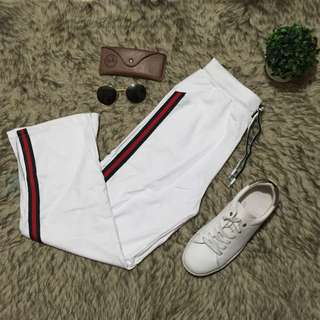 Gucci Inspired Track Pants
