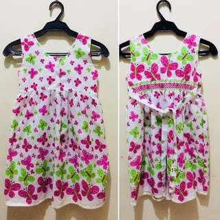 Kid's Floral Dress