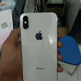 Kredit Apple IPhone X 64 GB Smartphone - Silver Cicilam Mudah
