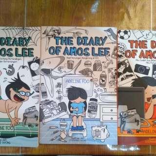Buku Anak-Anak Diary Of Amos Lee Jilid 1-3