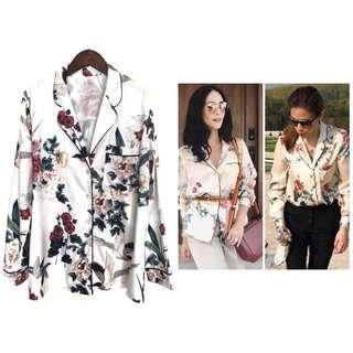 Summer SALE: Trendy Printed Pajama Blouse