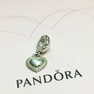 Pandora My Sister Links heart charm