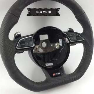 Audi RS4 RS5 RS6 full peforated steering