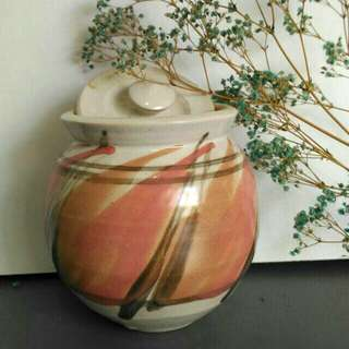 Handmade ceramic pot