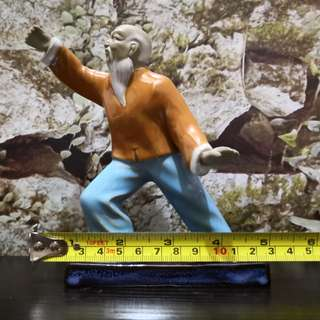 Taiji master figurine