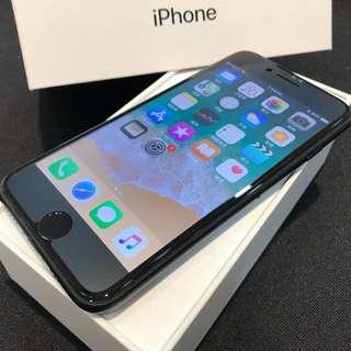 外觀約9.5成新 保存良好   霧黑iPhone7 128G 4.7吋   盒裝 附全新原廠充電頭 原廠傳輸線   二手原廠耳機轉接線 高雄可面交