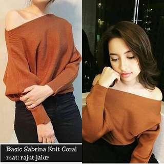 Basic sabrina knit