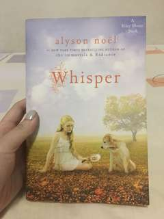 Whisper by Alyson Noel