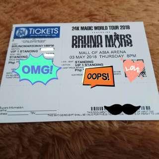 VIP 1 - BRUNO MARS 24k Magic World Tour 2018