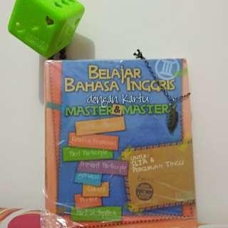 Master dan Mastery , Belajar Bahasa Inggris dengan Kartu